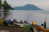 NEW BRITAIN, PNG: Speedboats await the next inter-island run from Kokopo