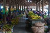 Inside the market complex