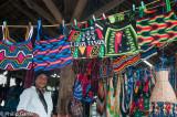 Hand-knitted bilum bags