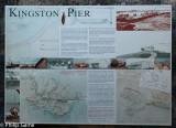 Historic information at Kingston Pier