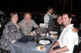 Jim and I with Andrew & Kelly - an amazing dinner at Tango Porteno
