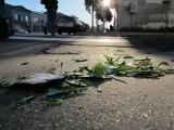 8th Street Broken Bottle