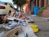 Garbage Day on Harrison Street