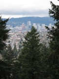View of Downtown from Mt. Tabor