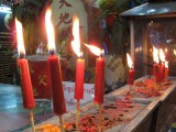 Chinese Temple Candles