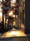 Bush Street sunset