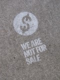 WE ARE NOT FOR SALE