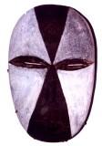 Galoa, Omyéné Group: Okukwé dance mask, 20th Century. Near Lambaréné, Moyen Ogooué.