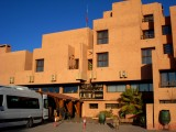 Hotel entrance in Boulmane Dades