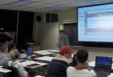 11.14.2005   Guest Lecturing an MBA Class at Bryant University, Smithfield, RI