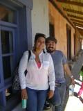 Carito y Miguel (hija y yerno de Claudia Avilés Galán)