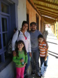 Carito, Miguel, David y Sophia (hijos de Esther y Jorge Manuel Avilés)
