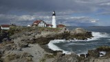 Portland Headlight , Maine , USA