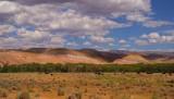 Wyoming pastel rolling hills
