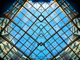 Gasometer glass roof