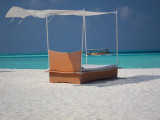 Beach  Bed in Breeze with Dhoni in distance