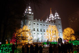 Temple Square - Christmas 2012