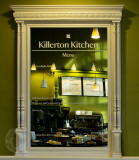 The cafe mirror at Killerton