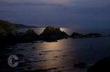 Screda point near Hartland in Moonlight