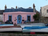 The pink house in the harbour