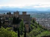 La Alhambra. Vista desde el Generalife