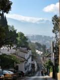 Montañas de Sierra Nevada vistas desde Granada
