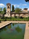 La Alhambra de Granada. Convento de San Francisco