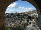 Granada. Vista desde la Alhambra