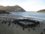 Una Ballena en la Playa de la Concha
