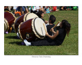 Okinawan Style Taiko Drumming