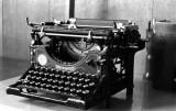 My Underwood Typewriter - Date: 27 BC (Before Computers)