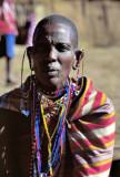 Old Masai Warrior
