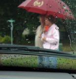 Grandpops and Grandmama Waiting in the Rain
