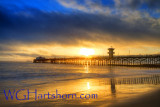 Seal Beach Pier Sunset