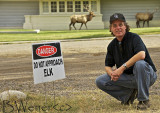Do Not Approach Elk