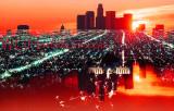 L A City Light Reflections