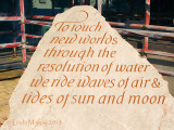 14th March 2013 - tides of sun and moon