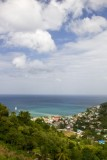 15.  Canaries fishing village on St Lucia.