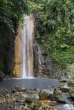 16.  The sulpher stained falls in the St. Lucia Botanical Gardens.