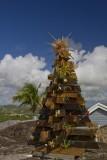 29.  A Reggae Christmas tree on Antigua.