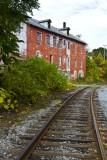 18.  An abandoned factory in Watkins Glen.