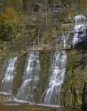24.  Hector Creek Falls.