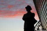 Tom Landry statue at Cowboys Stadium - Arlington, TX