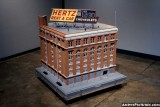 Model of what the Texas School Book Depository looked like in 1963