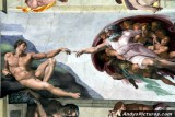 Ceiling of the Sistine Chapel - Vatican City