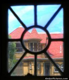 A window into the Winchester House