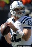 Indianapolis Colts QB Andrew Luck (1st NFL start)