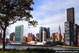 United Nations as seen from Roosevelt Island