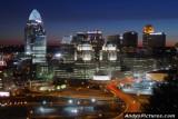 Downtown Cincinnati at Night