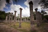 Columns, Templo de los Guerreros (Temple of the Warriors)